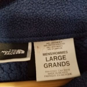 The North Face Jackets & Coats - The north face size L fleece zip up jacket